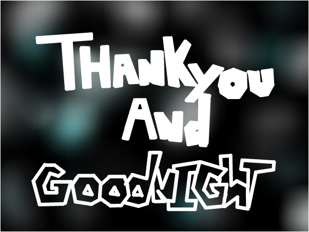 Thankyou And Goodnight - Tonight Alive ~Star