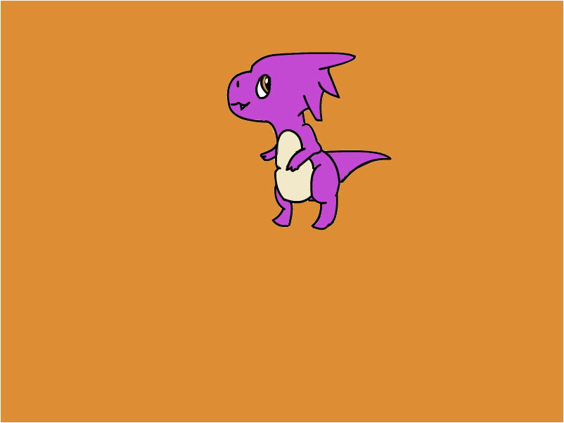 Fire Water dragon baby form