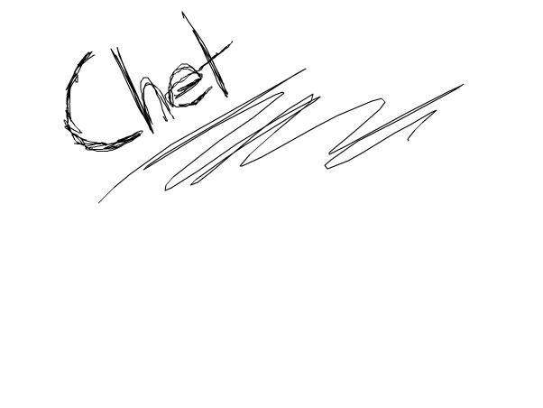 o 3 o I'm on. -Chet