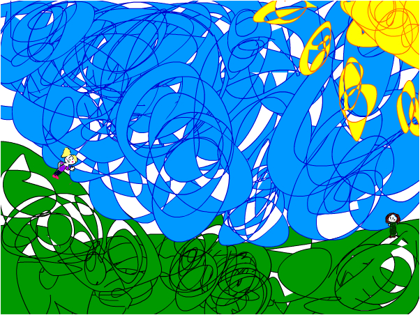 jasmine's scribbly scene