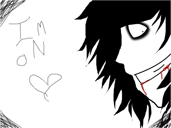 i is on jeff the killer