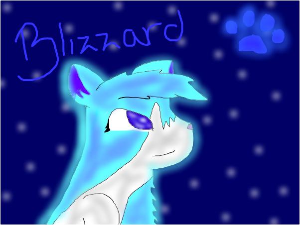 Blizzard the Fursona