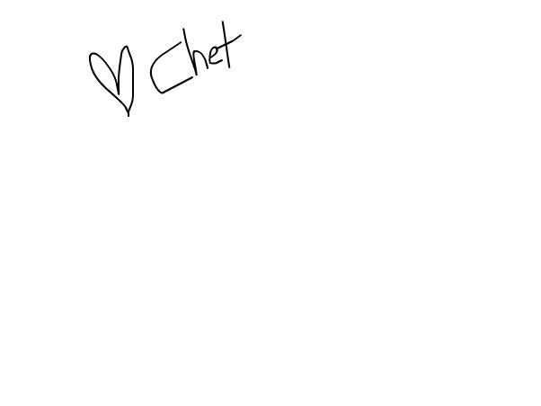 Hey, I'm on. -Chet