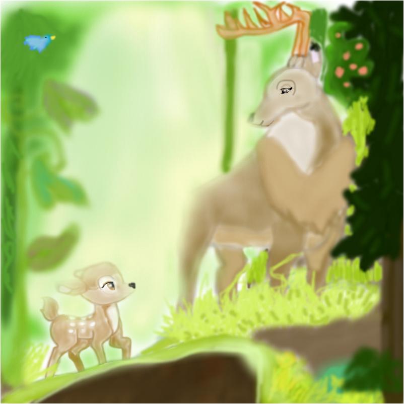 Disney Characters: bambi