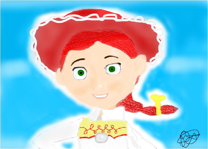 Disney Characters: Jessie (TS)
