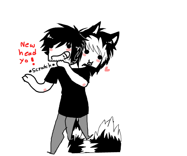 TWO HEADS WHOW~ (for chet)