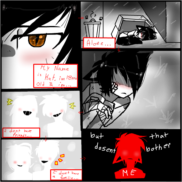 but that dosent bother me~ (comic)