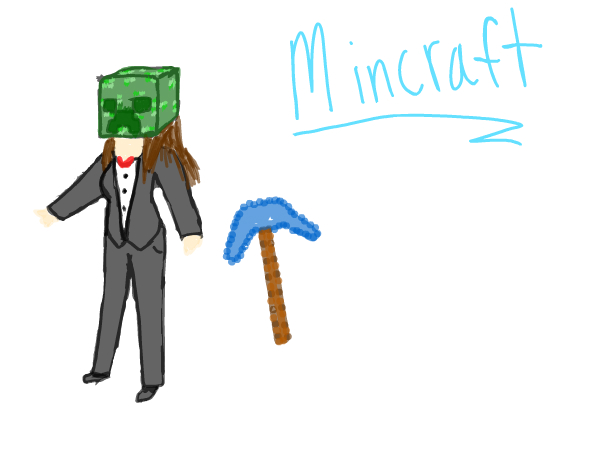 what i look like in mincraft