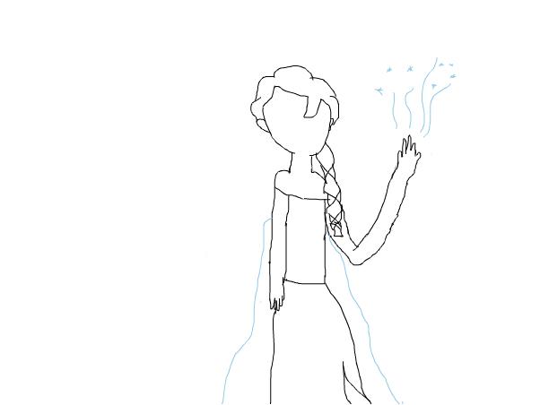 Failed Elsa From Frozen