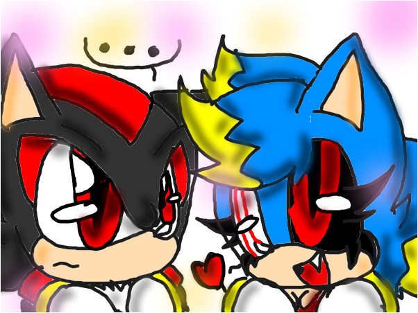 Cute exe and shadow