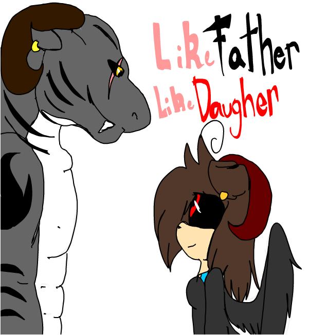 Like FATHER like DAUGHTER