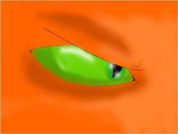 Firestar's eye