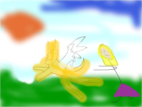 my sister's art~