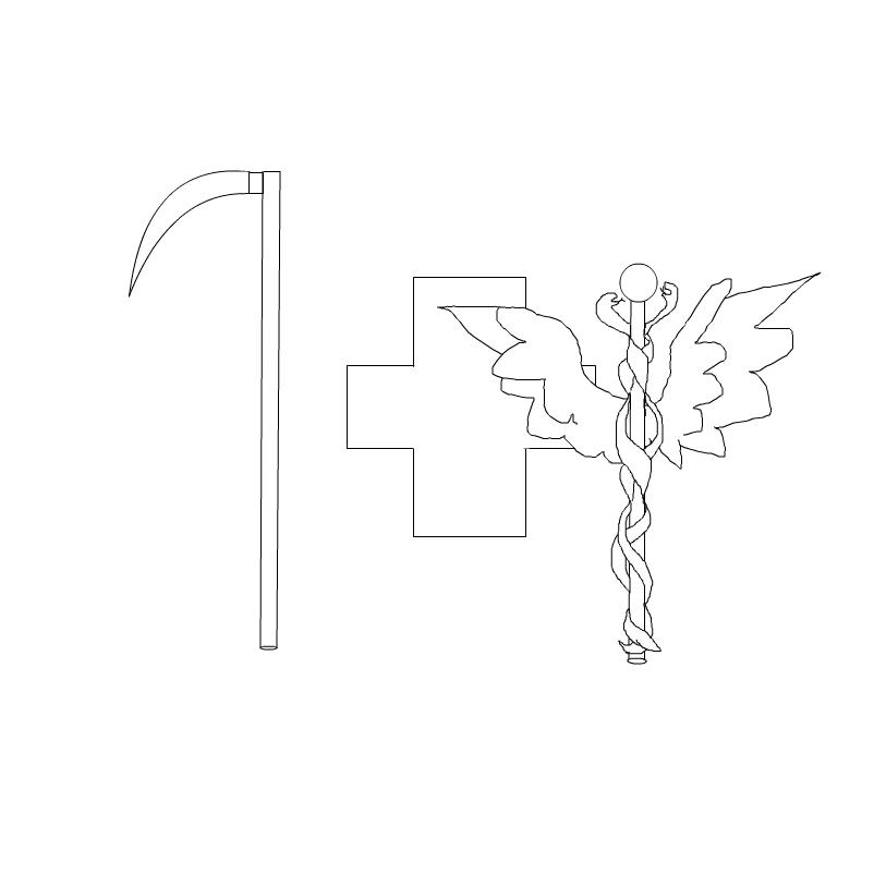 emma's reaper + the healing symbol = ?~