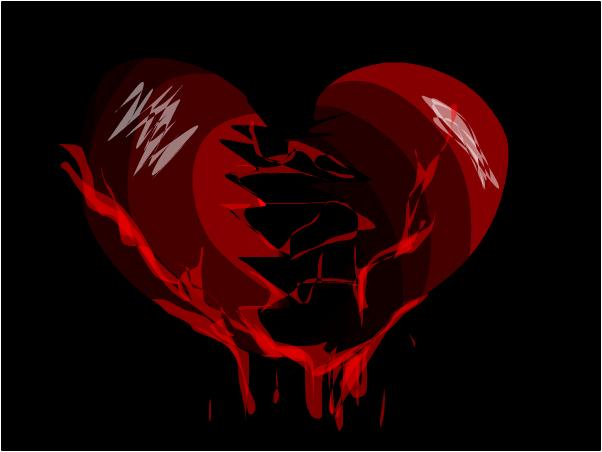 Heartbroken isn't a very nice feeling. ~Star