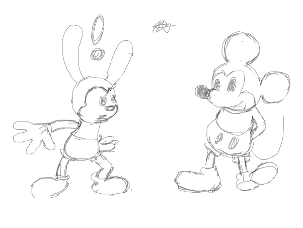 Oswald and Mickey (Unfin)