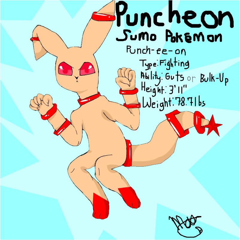 Puncheon, Fighting-type eeveeloution~