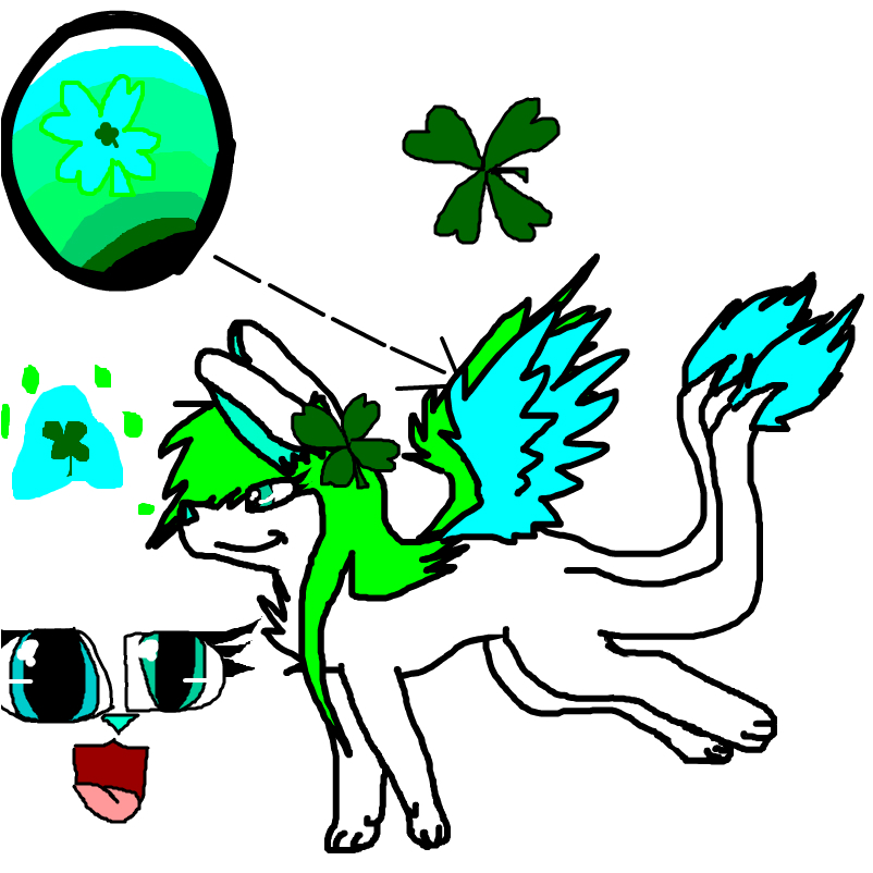 My nexus fursona, Clover~