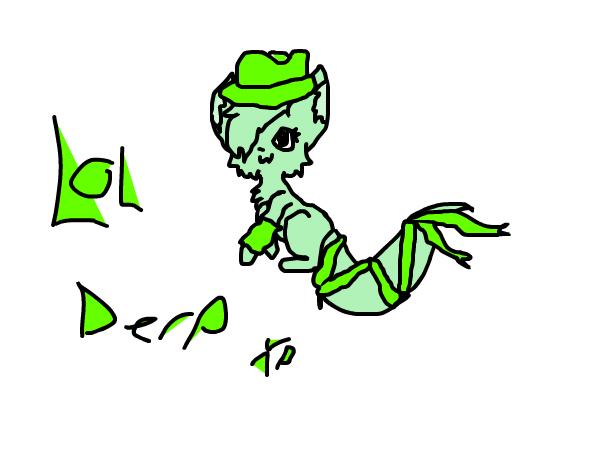 TheGreenFadora mascot XP