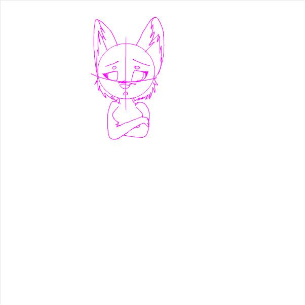 WIP~ (Shy Shila sketch)