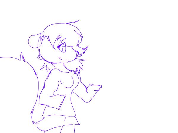 WIP~(Sneaky Susie Sketch)