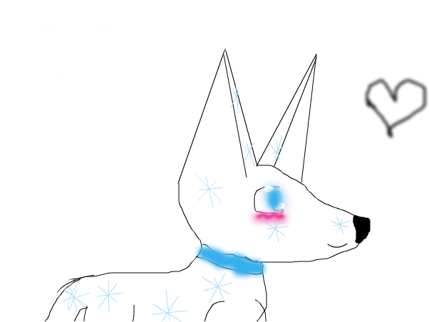 frost the wolf
