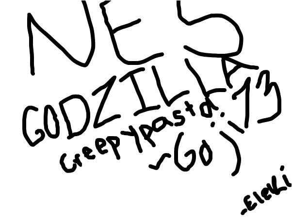 NES Godzilla Creepypasta Link Watch
