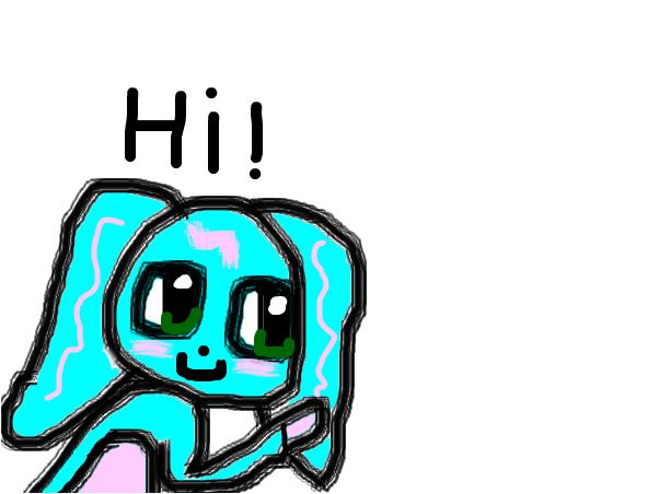 Hi ( i just woke up )