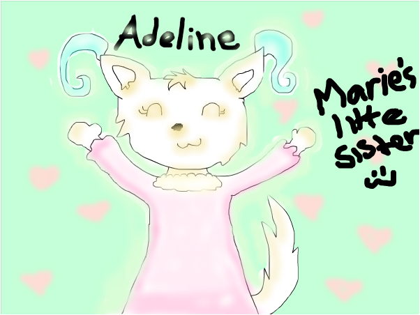 Adeline my entry for Angel.Leo Contest