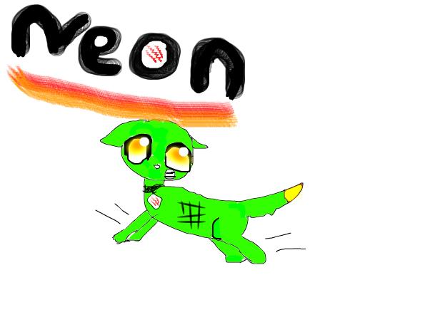 Neon the Electro Dog