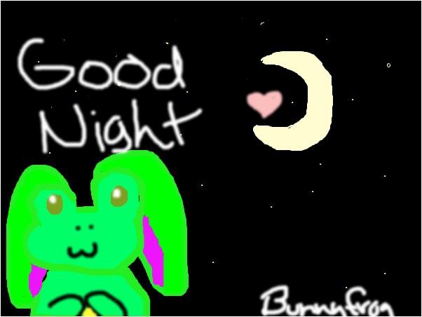 Goood night/morning