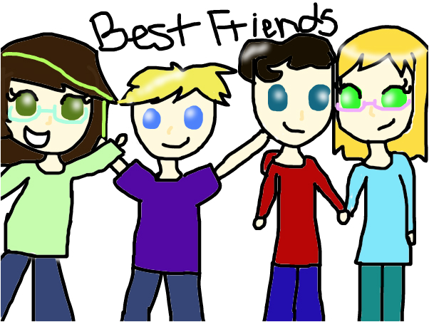 All of my friends!!!