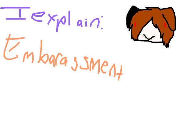 I explain: embarassment~Kiku