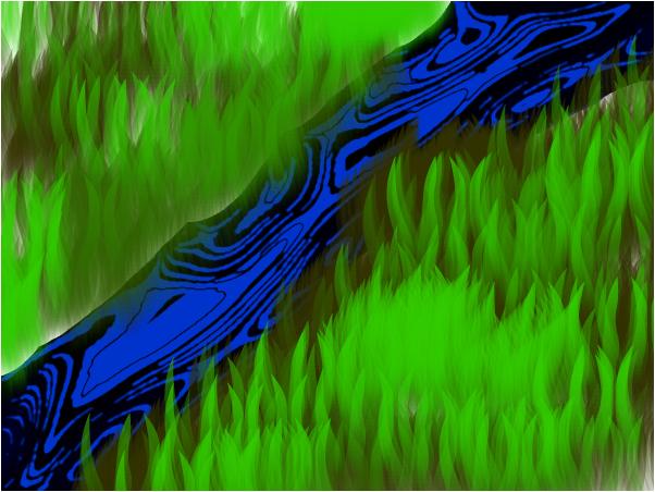 oil in the river :I