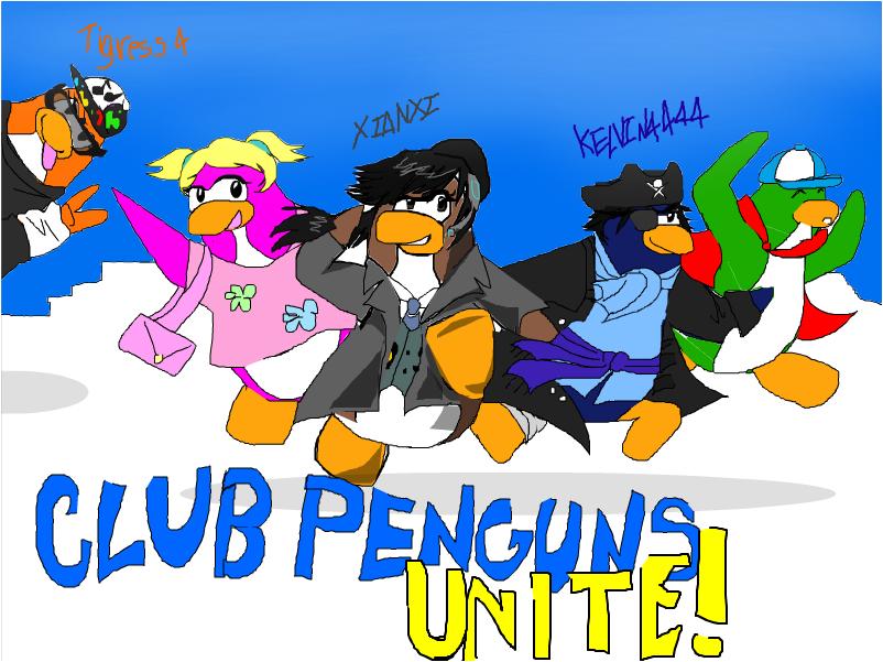 Club penguins UNITE!