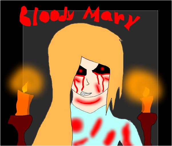 My new oc Bloody Mary!!!!