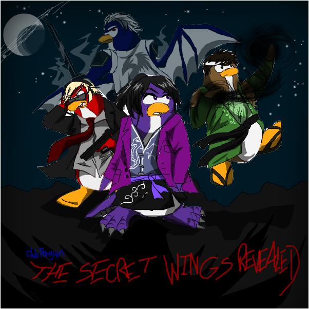 Club Penguin Comic Cover