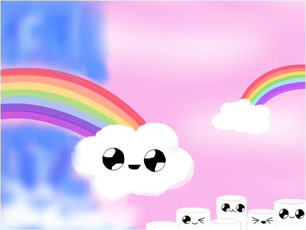 Happy Magic Rainbow Land WIP