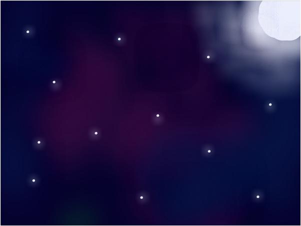 The night stars