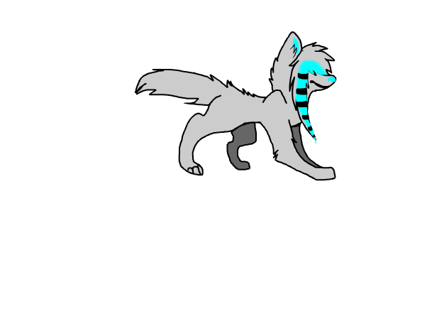 hey its blue i needed to make a new look