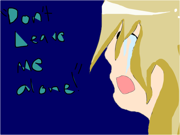 Don't leave me alone ~From RP~ ~Yuno
