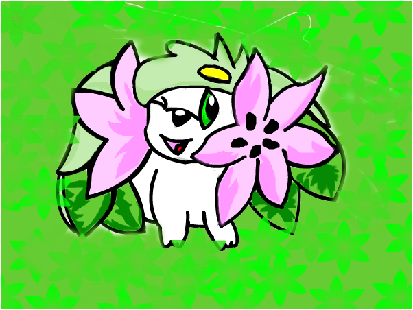 Shaymin from Pokemon!