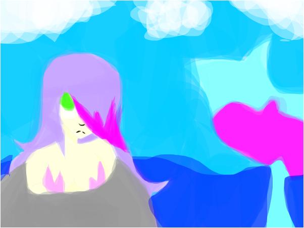 full colored mermaid oc~anonimous