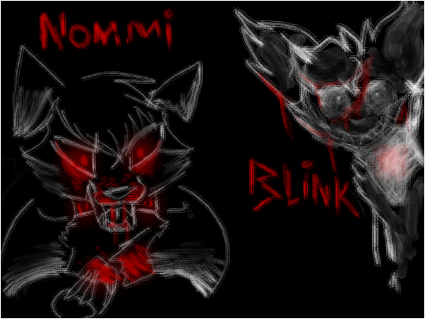 Scary - Nommi and Blink-Thief collab