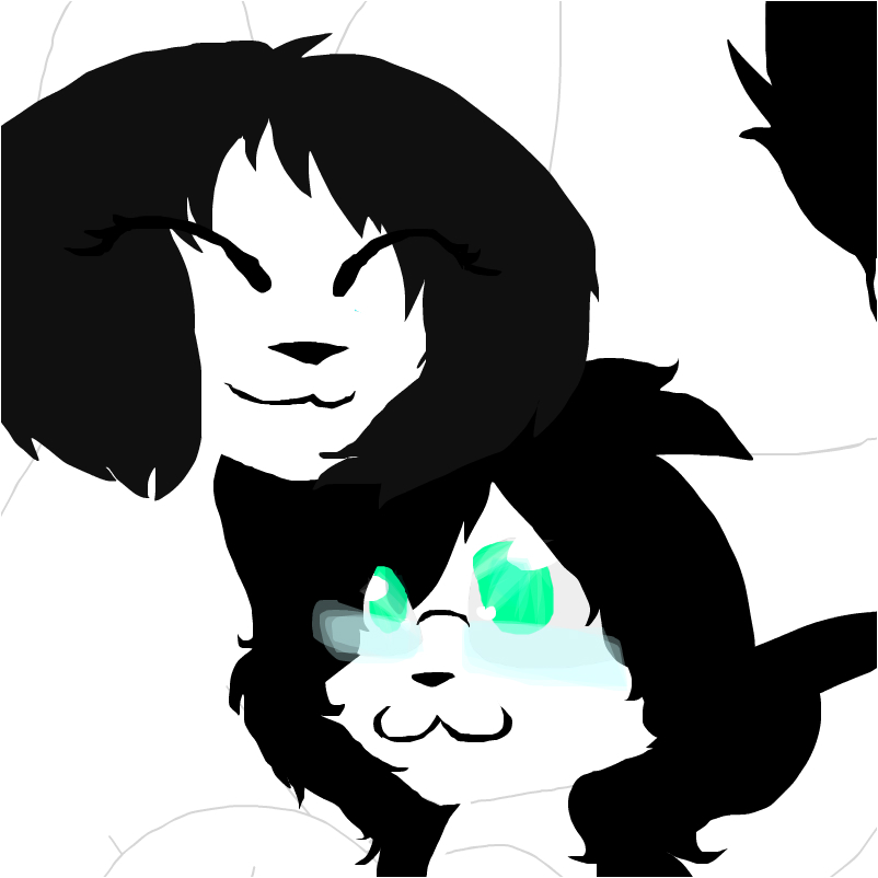 Me and MarshMellow~anonimous