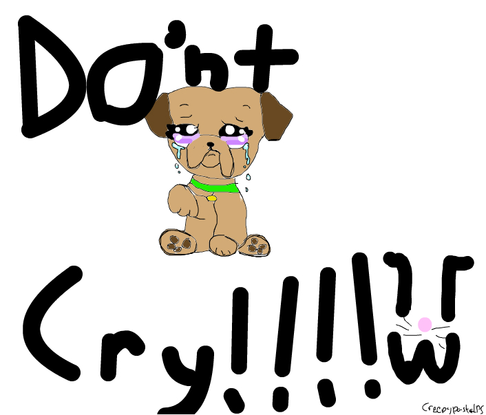 dont cry my friends :3