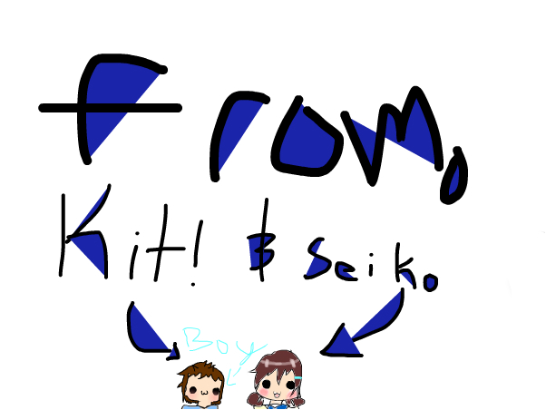 WE ARE STILL DISLOCATING THINGS~KIT AND SEIKO!! :3
