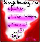 3 drawing tips~Bunny
