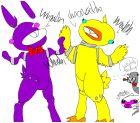 *Draws fnaf*~Bunny