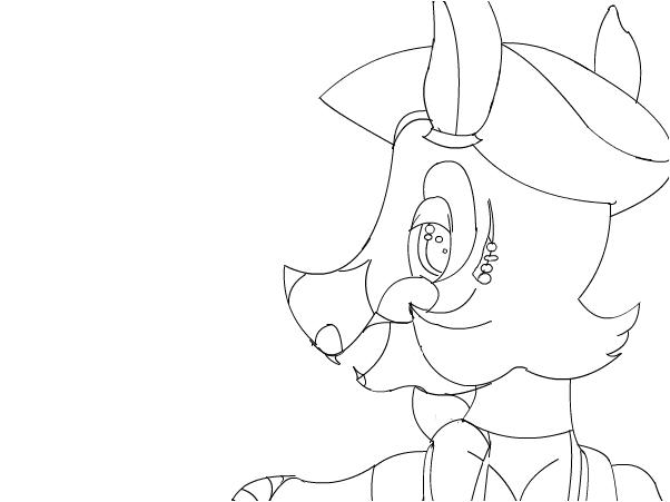 Foxina ( aka Pre Mangle) sketch